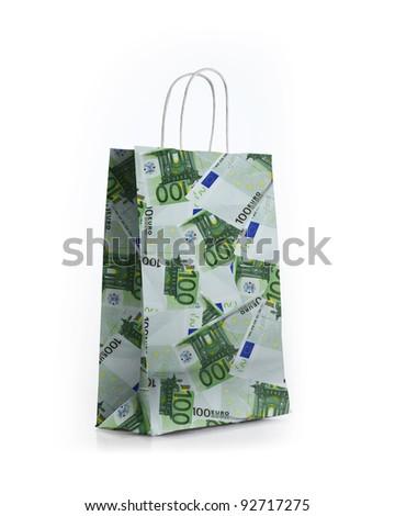 money shop bag
