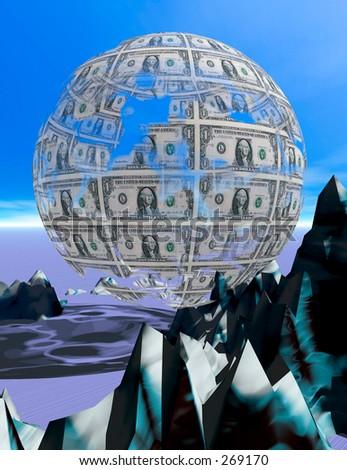 money sphere deteriorating