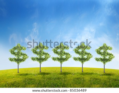 money tree investment growth income interest savings economy funds stock market financial business