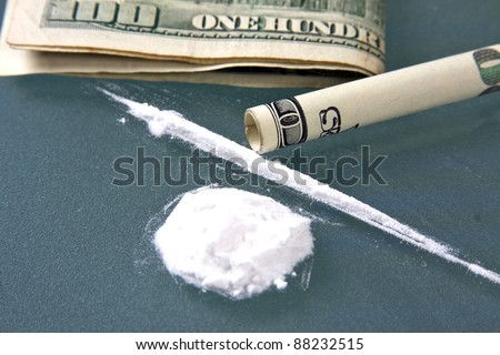 money used for buying and taking drugs