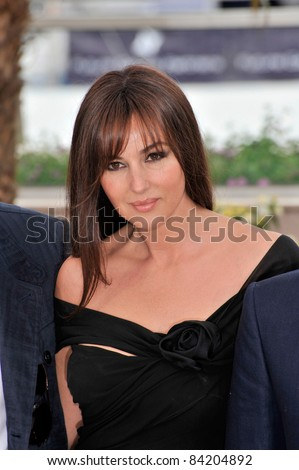 "Monica Bellucci at photocall for her new movie ""Sanguepazzo - Une Histoire Italienne"" at the 61st Annual Cannes Film Festival. May 19, 2008  Cannes, France. Picture: Paul Smith / Featureflash"