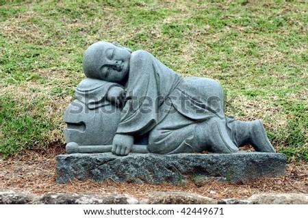 Monk statue #42449671