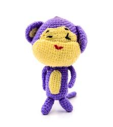 Monkey Knitting doll