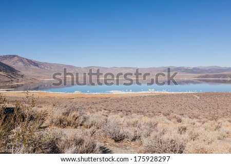 Mono Basin National Scenic Area is a protected area in Eastern California that surrounds Mono Lake and the northern half of the Mono Craters volcanic field.