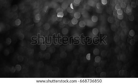 Mono Bokeh - Shutterstock ID 668736850