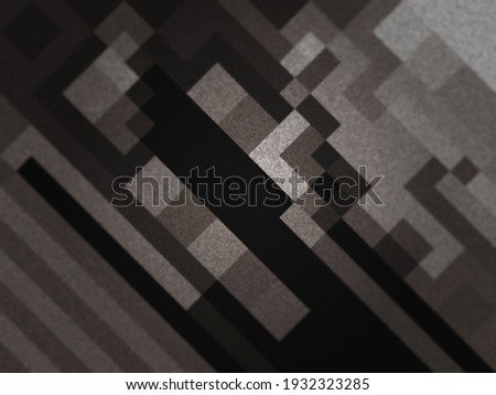 Monochrome abstract background. Black and white pattern. Halftone texture. Creative dark graphic design for poster, brochure, flyer and card. Backdrop for web, fabric and cover. Photo stock ©