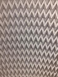 Monochrome Melange Zigzag Textured Distressed Background. Seamless Pattern.