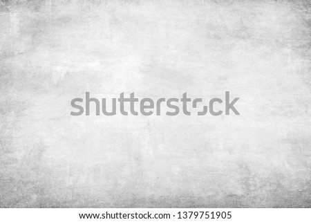 Monochrome texture with white and gray color. Grunge old wall texture, concrete cement background. #1379751905
