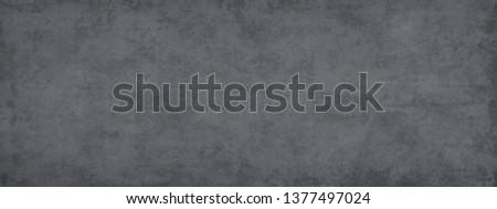 Monohrome dark  grunge gray abstract background. Grunge old wall texture, concrete cement background. #1377497024