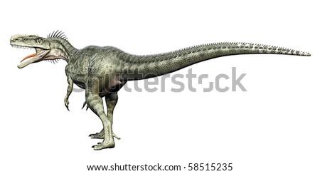 monolophosaurus back side