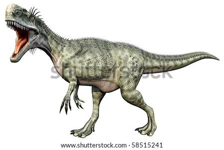 monolophosaurus full body