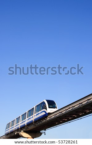 Monorail. Moscow, Russia
