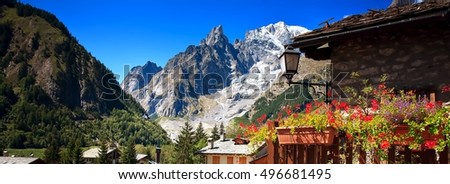 Mont Blanc, Courmayeur, Italy