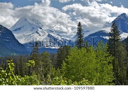 Montana Mountains Range - Rocky Mountains Scenery, Montana Photography Collection.