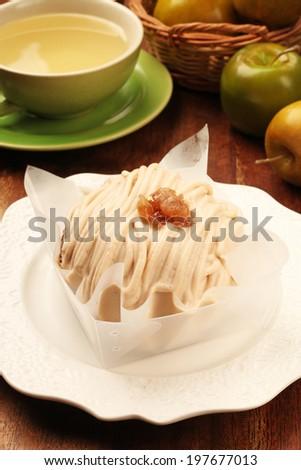 Montblanc  cake