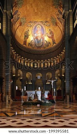 MONTE CARLO, MONACO - JANUARY 18:  Saint Nicholas Cathedral in Monte Carlo on JANUARY 18, 2012. Saint Nicholas Cathedral interior in Monte Carlo, Monaco.
