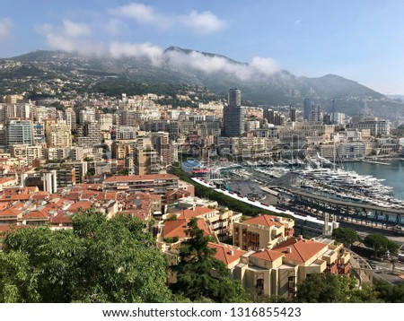 Monte Carlo skyline #1316855423