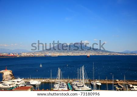 Monte Vesuvio,Naples,Ital y - stock photo