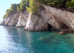 Montenegro. Petrovac. Azure Lagoon