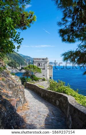 Monterosso al Mare is a town and comune in the province of La Spezia, part of the region of Liguria at the ligurian coast Riviera di Levante. It is one of the five villages in Cinque Terre. Stock photo ©