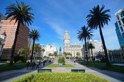 MONTEVIDEO URUGUAY OLD CITY