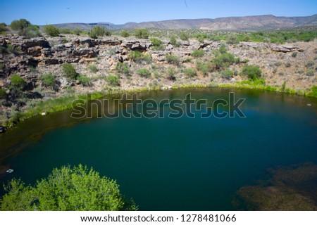 Montezuma Well National Monument, Northern Arizona