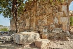 Montfort Israel tower ruins