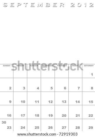 2012 annual calendar. 2012+calendar+template