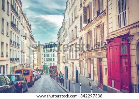 Montmartre in Paris #342297338