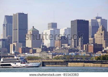 Montreal skyline, Quebec, Canada