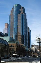 Montreal skyscraper building, Canada
