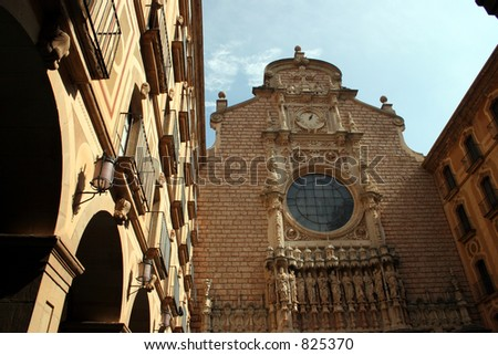 Montserrat in Spain.