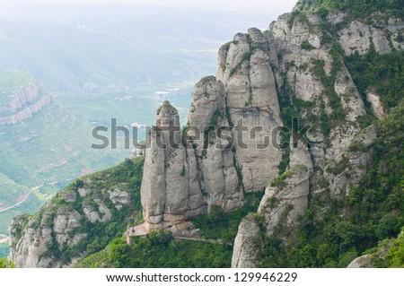 Montserrat mountain. Spain