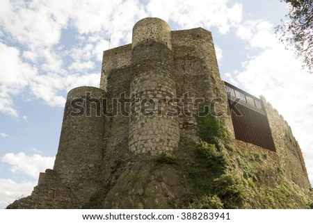 Montsoriu Castle in the Montseny Natural Park, Catalonia  #388283941