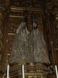 Monument in a church in Lisbon, Portugal