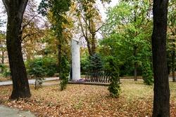 Monument of the victims of communism, Drobeta Turnu Severin, Romania.
