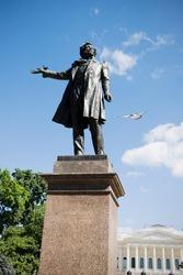 Monument to Alexander Pushkin in St.-Petersburg