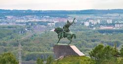 Monument to Salavat Yulayev, Ufa, Bashkortostan, Russia
