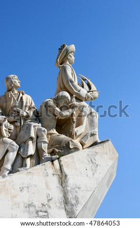 Monument to the Discoveries - located in the Belem district of Lisbon, Portugal
