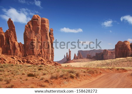 Monument Valley in America\'s Southwest