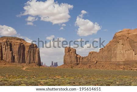 Monument Valley in Utah, United States of America