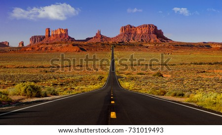 Monument Valley road #731019493