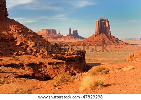 Monument Valley's North Window Overlook