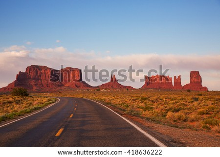 Monument Valley, United States  - Shutterstock ID 418636222