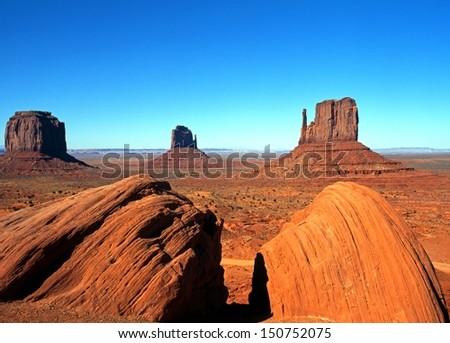 Monument Valley, Utah/Arizona, United States of America.
