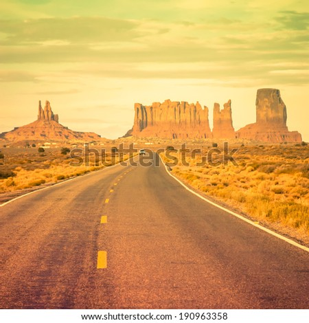 monument valley  utah  usa in...