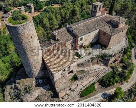 Monumental complex: Les Torres de Fals Stock fotó ©