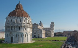 Monumental complex of the cathedral of Pisa, Tuscany, Italy