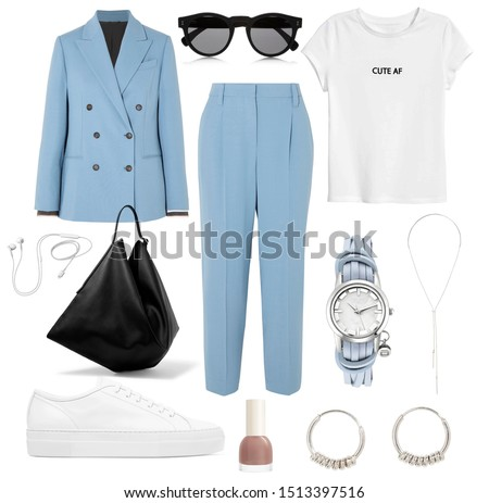 mood board fashion clothes, outfit, clothes collage