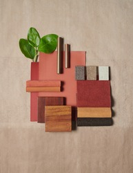 Moodboards for architects styling and selection